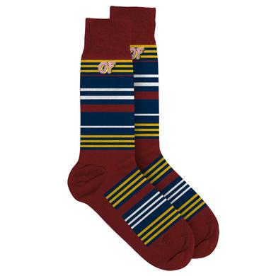 Odd Future OF LOGO MULTI-STRIPED PARK SOCKS
