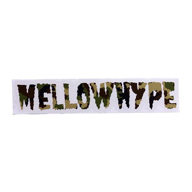Odd Future MELLOWHYPE CAMO STICKER