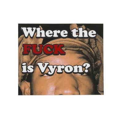 Odd Future WTF IS VYRON STICKER
