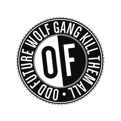 Odd Future OF B&W CIRCLE LOGO STICKER