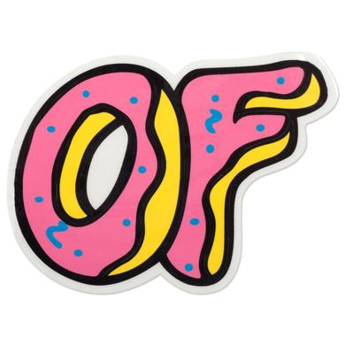 Odd Future OF LOGO STICKER