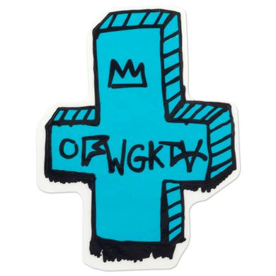 Odd Future OFWGKTA CROSS LOGO STICKER