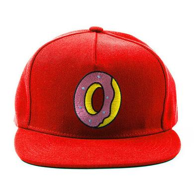 Odd Future SINGLE DONUT SNAPBACK RED
