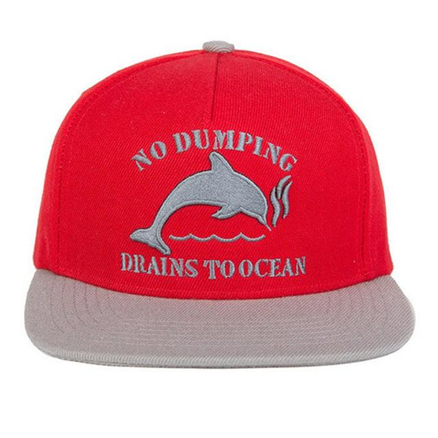 Odd Future DOLPHIN NO DUMPING HAT RED