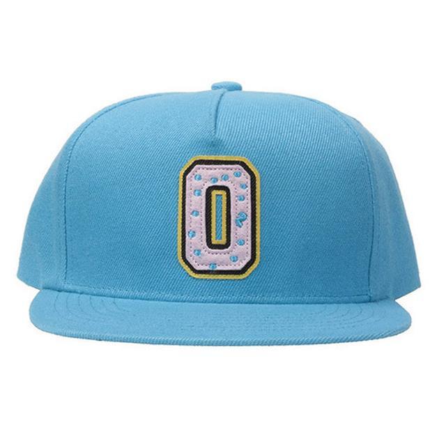 Odd Future OF COLLEGE DONUT HAT BLUE