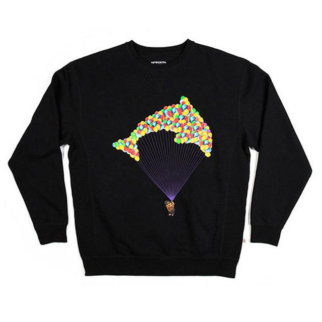 Odd Future JASPER BALLOON CREW BLACK