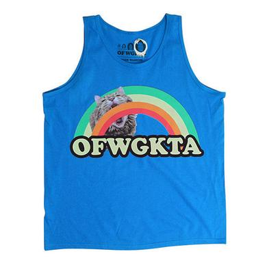 Odd Future GIRLS RAINBOW CAT TANK ROYAL BLUE