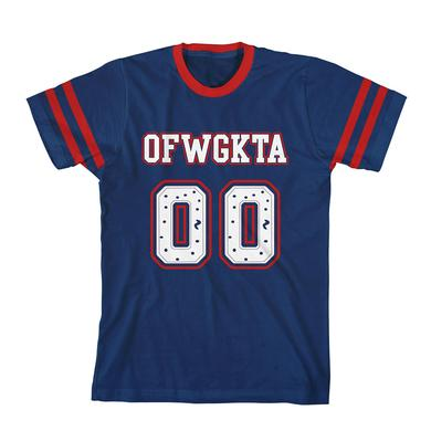 "Odd Future ""OO"" LOGO FOOTBALL TEE"