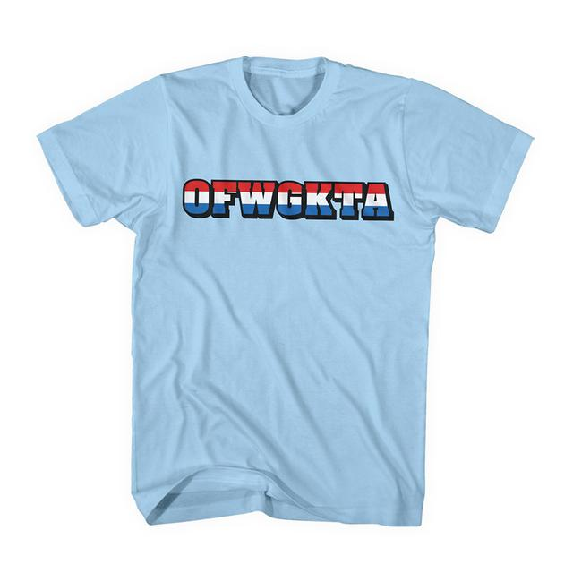 Odd Future RED, WHITE & BLUE OFWGKTA TEE