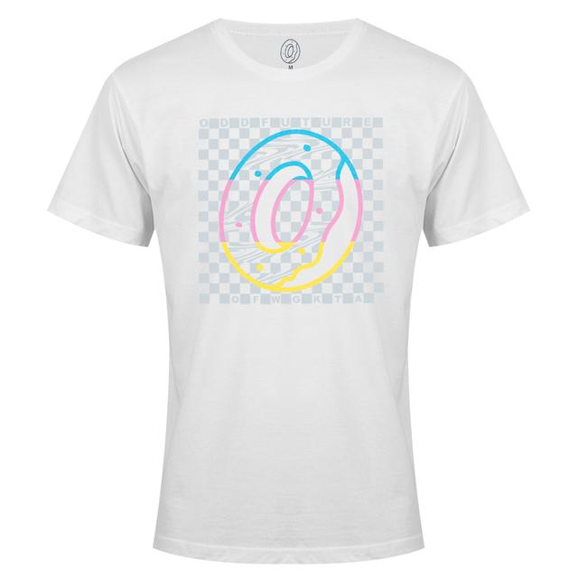 Odd Future RAINBOW DONUT CHECKERED BOX TEE