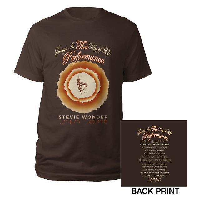 Stevie Wonder Songs In the Key Of Life Performance Tee