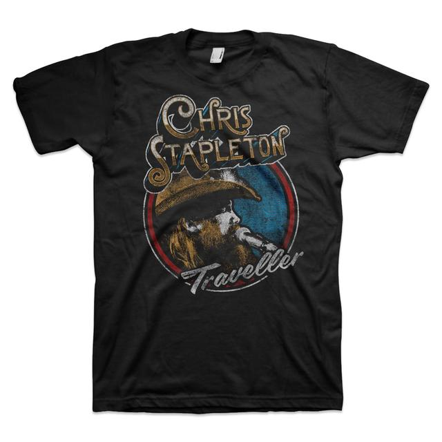 Chris Stapleton Photo Circle T-Shirt