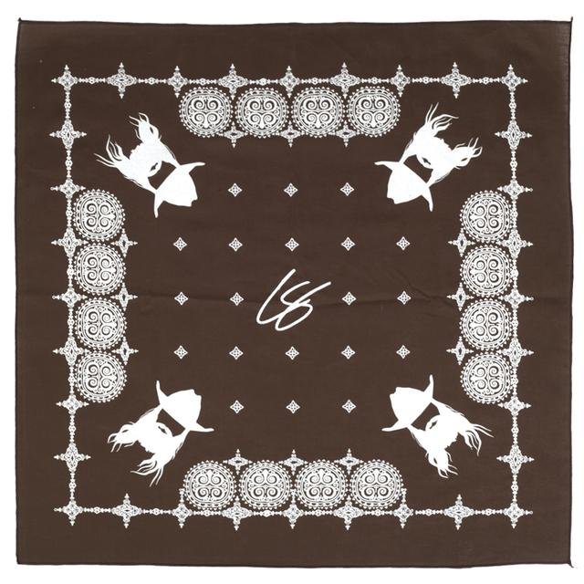 Chris Stapleton Brown Bandana