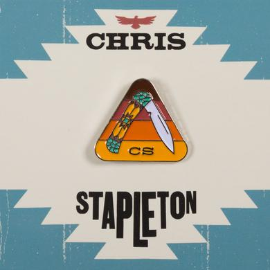 Chris Stapleton Pocketknife Soft Enamel Pin