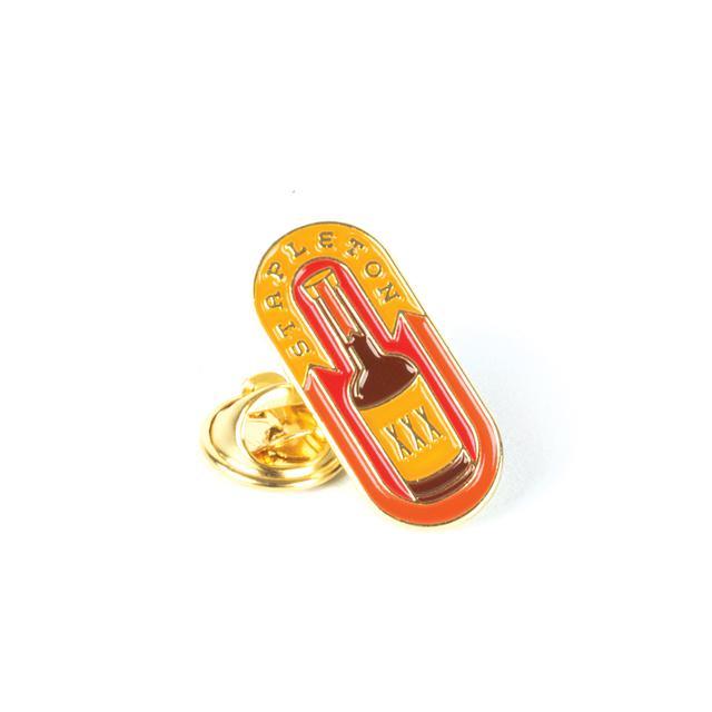 Chris Stapleton Whiskey Bottle Soft Enamel Pin