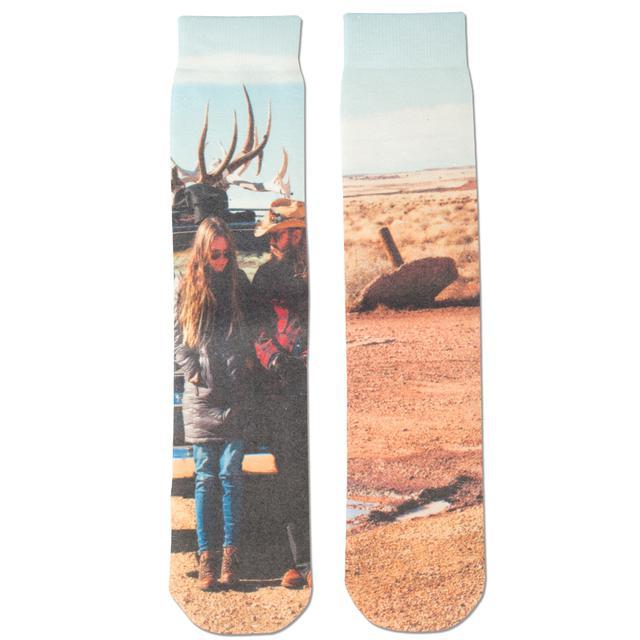 Chris Stapleton Traveller Album Art Socks