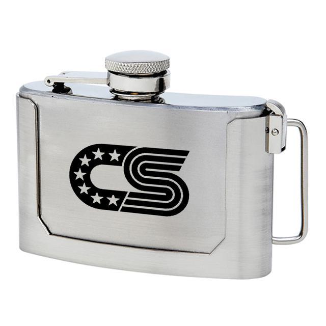 Chris Stapleton Belt Buckle Flask