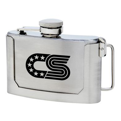 Chris Stapleton Belt Buckle Flask