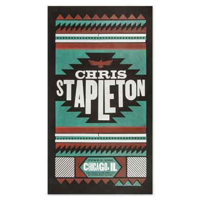 Chris Stapleton Show Poster - Chicago, IL 6/2/16
