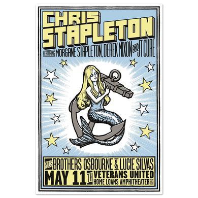 Chris Stapleton Show Poster – Virginia Beach, VA 5/11/17