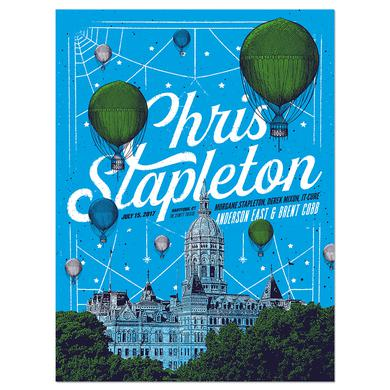 Chris Stapleton Show Poster – Hartford, CT 7/15/17