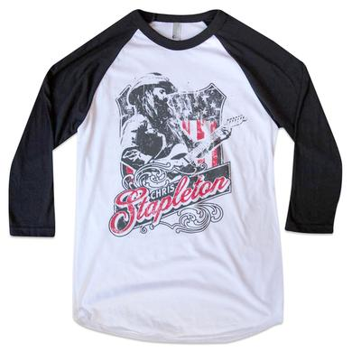 Chris Stapleton Shirt | The Patriot Raglan Tee