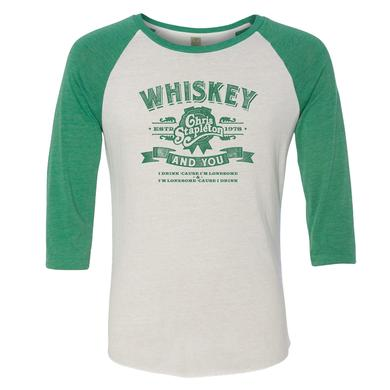 Chris Stapleton The Whiskey and You Raglan