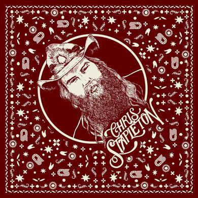 Chris Stapleton Maroon Bandana