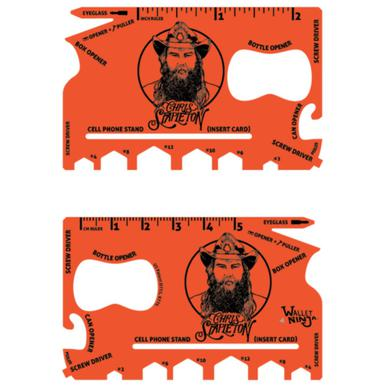 Chris Stapleton Hunger Orange Wallet Ninja