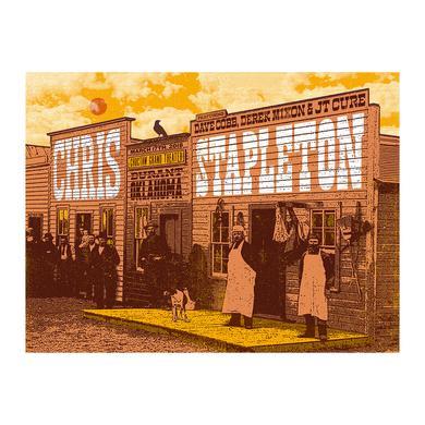 Chris Stapleton Show Poster – Durant, OK 3/17/18