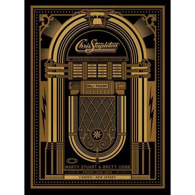 Chris Stapleton Show Poster – Camden, NJ 6/29/18