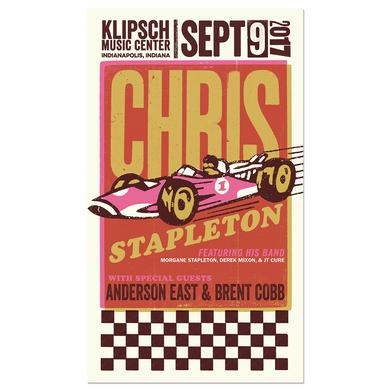 Chris Stapleton Show Poster – Noblesville, IN 9/9/17