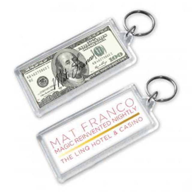 Mat Franco Dollar Trick Keychain