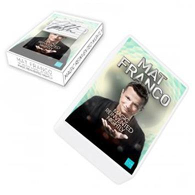 Mat Franco Deck of Cards w/ Window Box Signature
