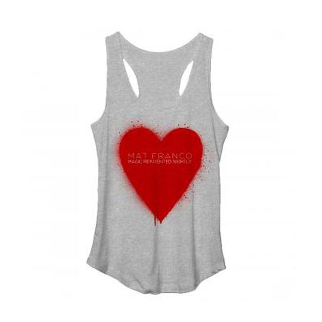 Mat Franco Heart Suit Junior Tank