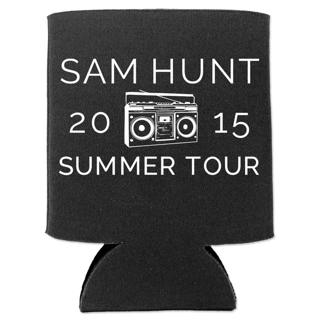 Sam Hunt 2015 Summer Tour Koozie