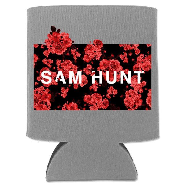Sam Hunt Floral Koozie