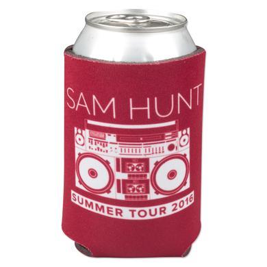 Sam Hunt Cassette Maroon Koozie
