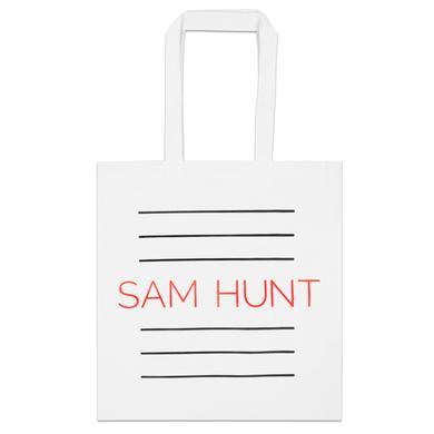 Sam Hunt Printed Tote