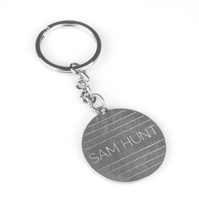 Sam Hunt Keychain