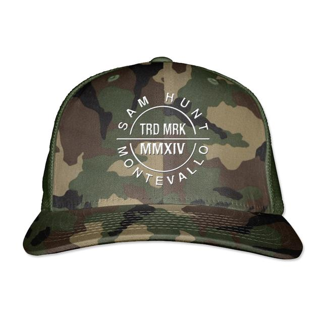 Sam Hunt Montevallo Camo Hat