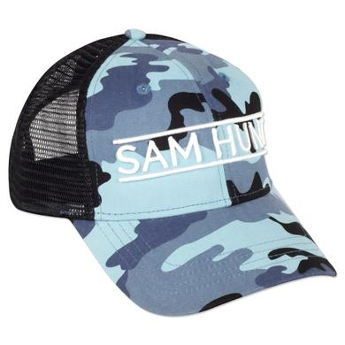 Sam Hunt Camo Trucker Hat