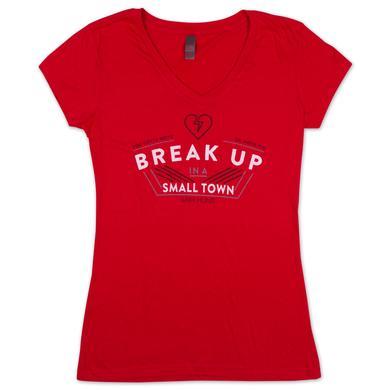 Sam Hunt Ladies T Shirt | Sam Hunt Break Up T Shirt