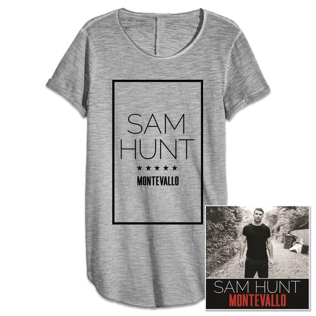 Sam Hunt Montevallo CD + T-Shirt Bundle
