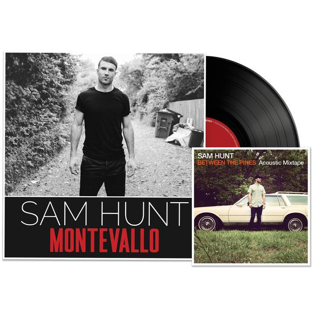 Sam Hunt Montevallo Vinyl + Between The Pines Digital Album