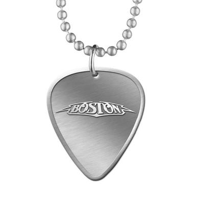 Boston Guitar Pick Necklace