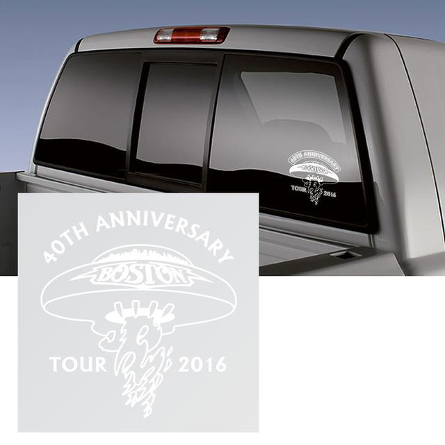 Boston 40th Anniversary 2016 Tour Logo Windo Sticker