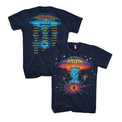 Boston Starry Spaceship 2012 Tour Tee