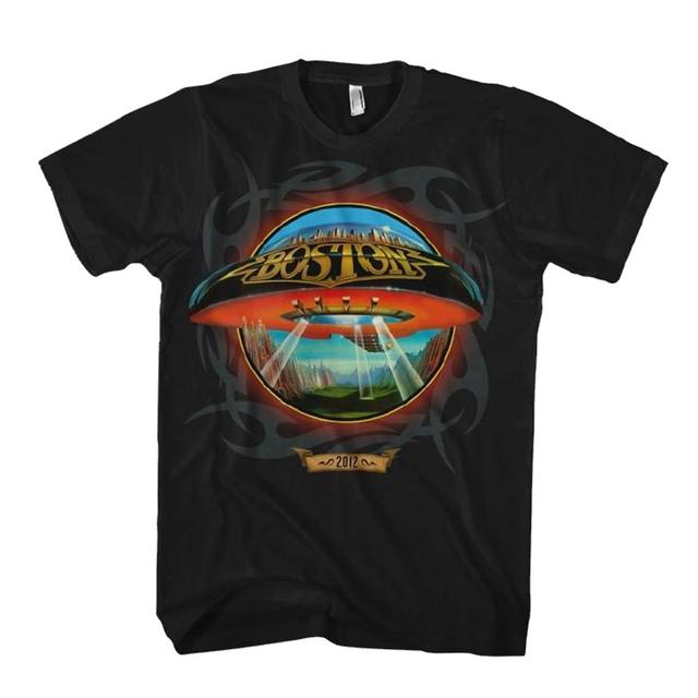 "Boston Spaceship Tattoo"""" 2012 Tee"