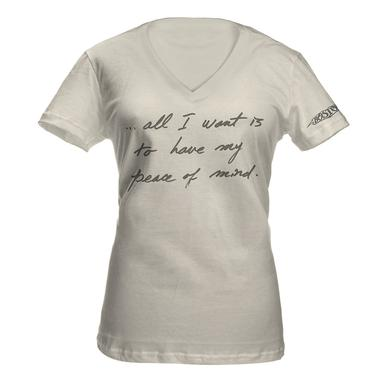 Boston 'Peace Of Mind' Lyric Women's Tee*